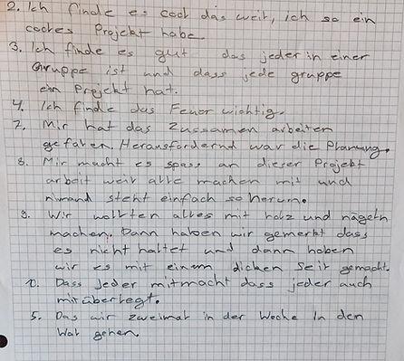 Waldunterricht   Rahel Schelb