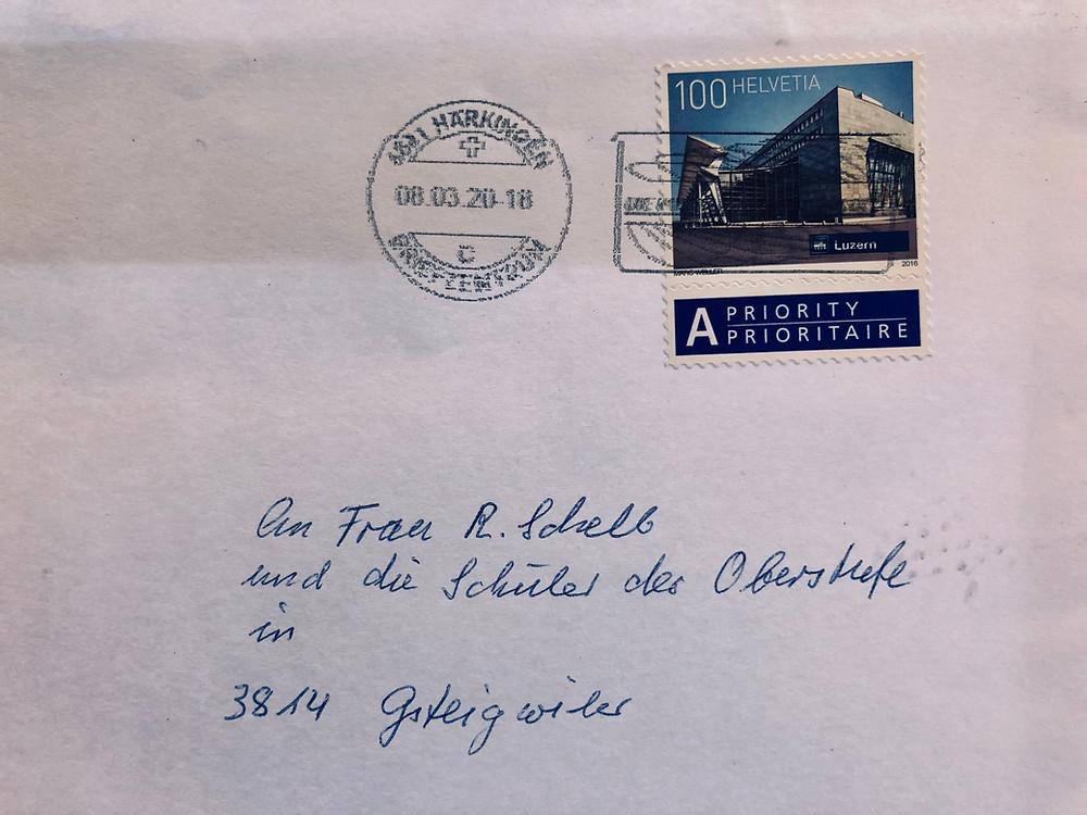 Brief einer alten Frau