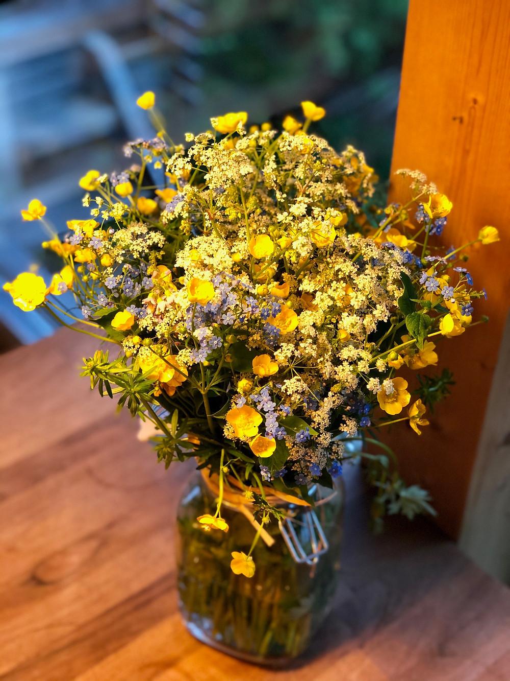 Eine Klasse ist ein Blumenstrauss voller verschiedener Farben.