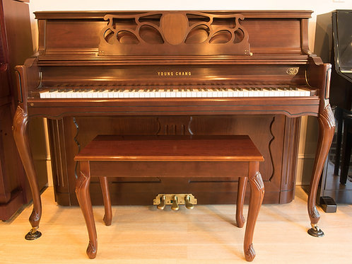 Young Chang Upright Console Piano