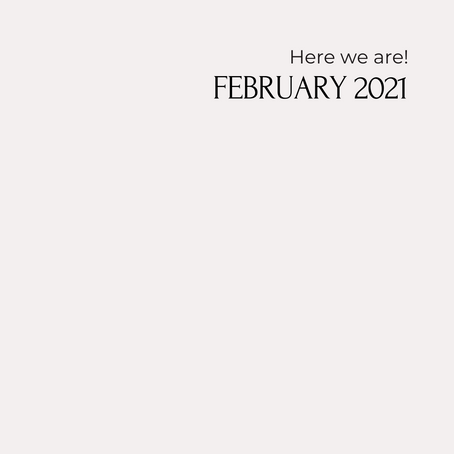 HERE WE ARE - FEBRUARY - FOR THE LOVE OF HUMANITY