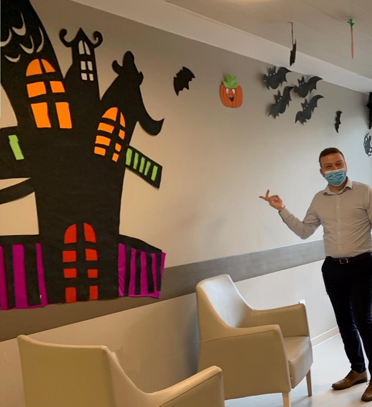 Nouveau décor éphémère pour Halloween !