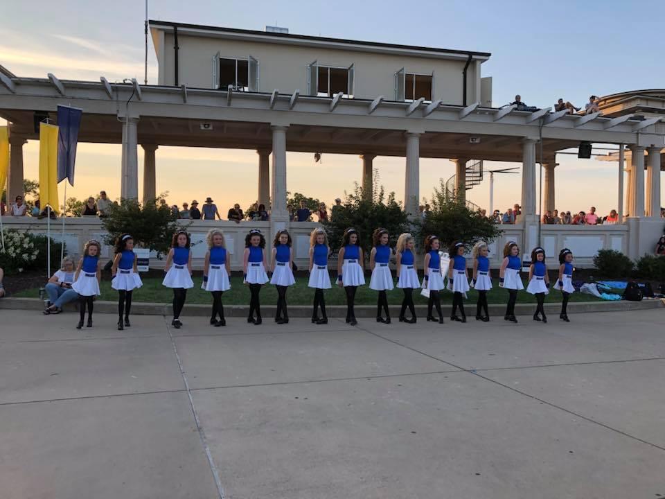MUNY 100th Birthday Performance at Lichtenstein Plaza - Clarkson Choreography Team