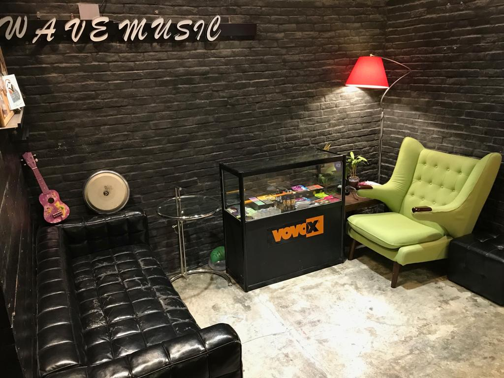 Musician's Lounge Area