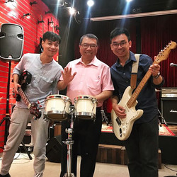 Recording day with Dr. 李嘉仁