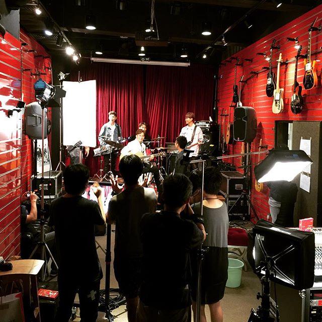 日前廣告拍攝場地提供__#rehearsalroom #shooting #ve