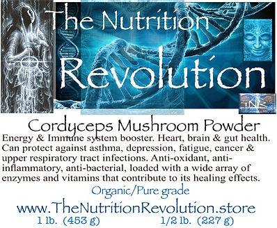 The Nutrition Revolution - Coryceps mush