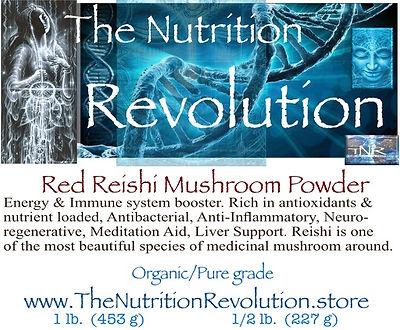 The Nutrition Revolution - Red Reishi la