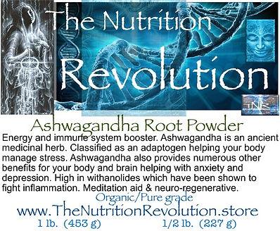 The Nutrition Revolution - Ashwagandha