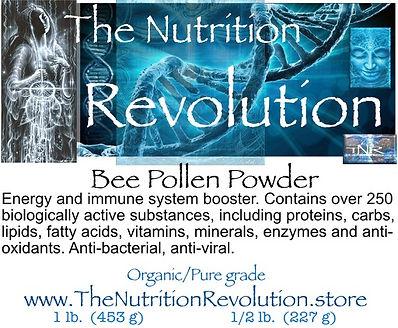 The Nutrition Revolution - Bee Pollen la