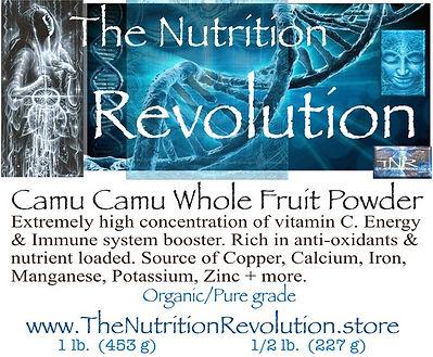 The Nutrition Revolution - Camu berry la