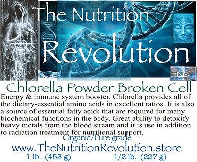 The Nutrition Revolution - Chlorella Pow