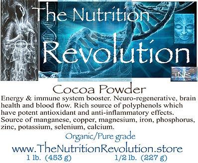 The Nutrition Revolution - Cocoa powder