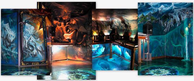 Cryptic studio - 2005 - hand-painted
