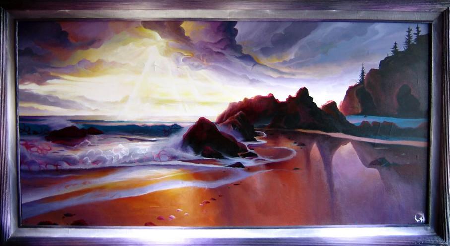 Austrailia Tides painting 2006