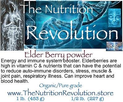 The Nutrition Revolution - Elderberry  l