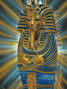 'Tutankhamun' canvas print