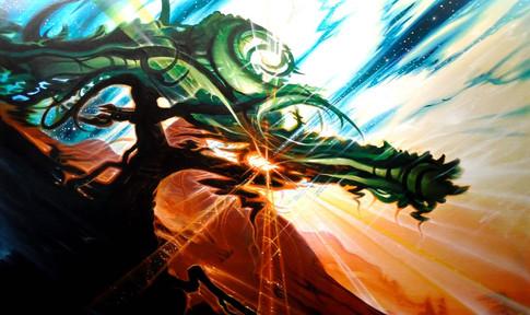 Wisdom Tree painting 2010