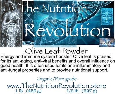 The Nutrition Revolution - Olive leaf la