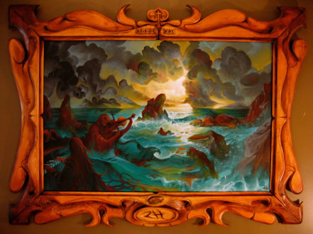 Music of the Ocean painting 2006