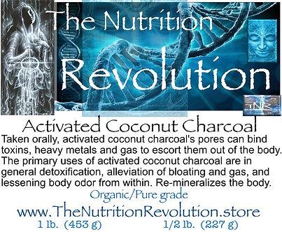 The Nutrition Revolution - Coconut charc