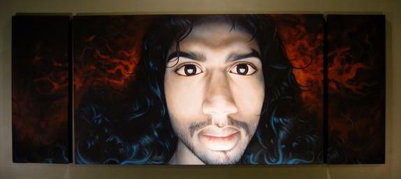 Manoj painting 2010