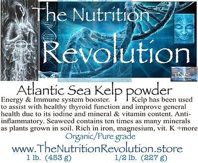 The Nutrition Revolution - Atlantic Sea