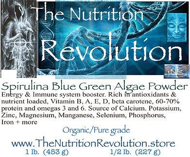 The Nutrition Revolution - Spirulina lab