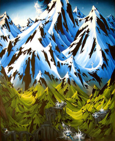 Luke Hunter painting 2003