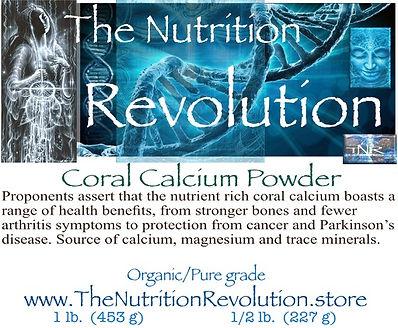 The Nutrition Revolution - Calcium Powde
