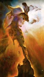 Horse Nebula painting 2009
