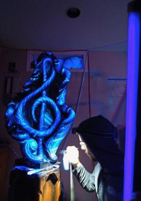 Music sculpture 2015