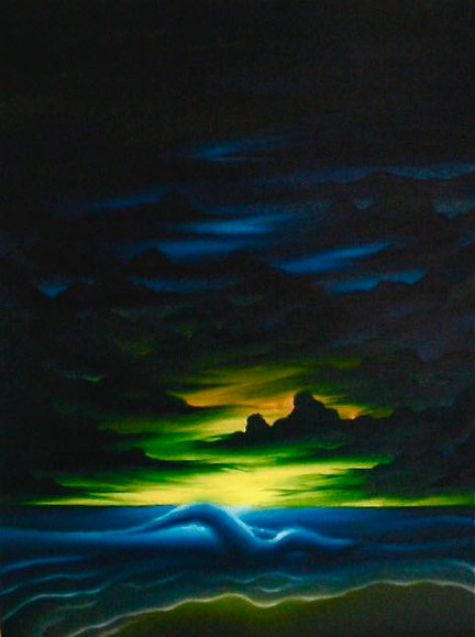 Beginning of Time painting 2001