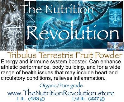 The Nutrition Revolution - Tribulus  lab