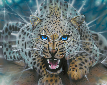 LEOPARD painting 2017