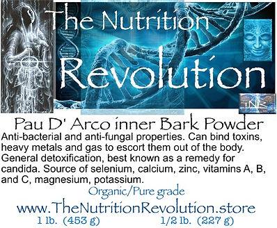 The Nutrition Revolution - Pau D'arco la