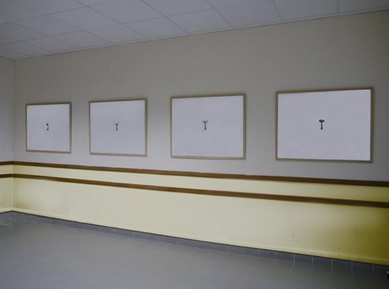 """""""Néréides"""" aquarelle sur papier"""