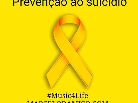 Prevenção ao Suicídio e Depressão: tema da 2ª música da série #Music4Life