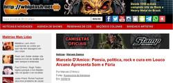 Poesia, política, rock e cura em Louco Arcano Apresenta Som e Fúria