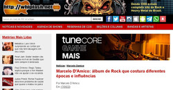 Marcelo D'Amico: álbum de Rock que costura diferentes épocas e influências