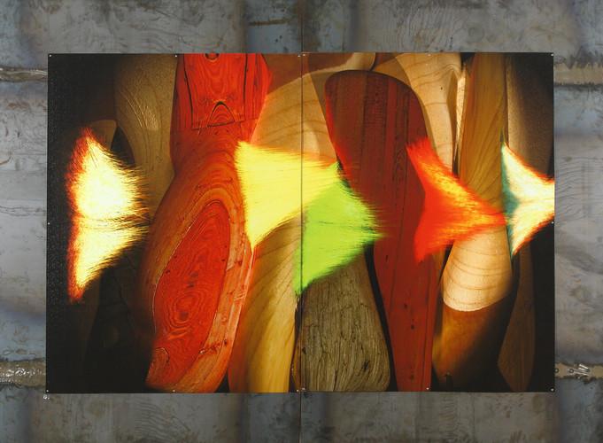 树结发卿 钢板印制 BurlHairGlow-DigitalMetalPrint