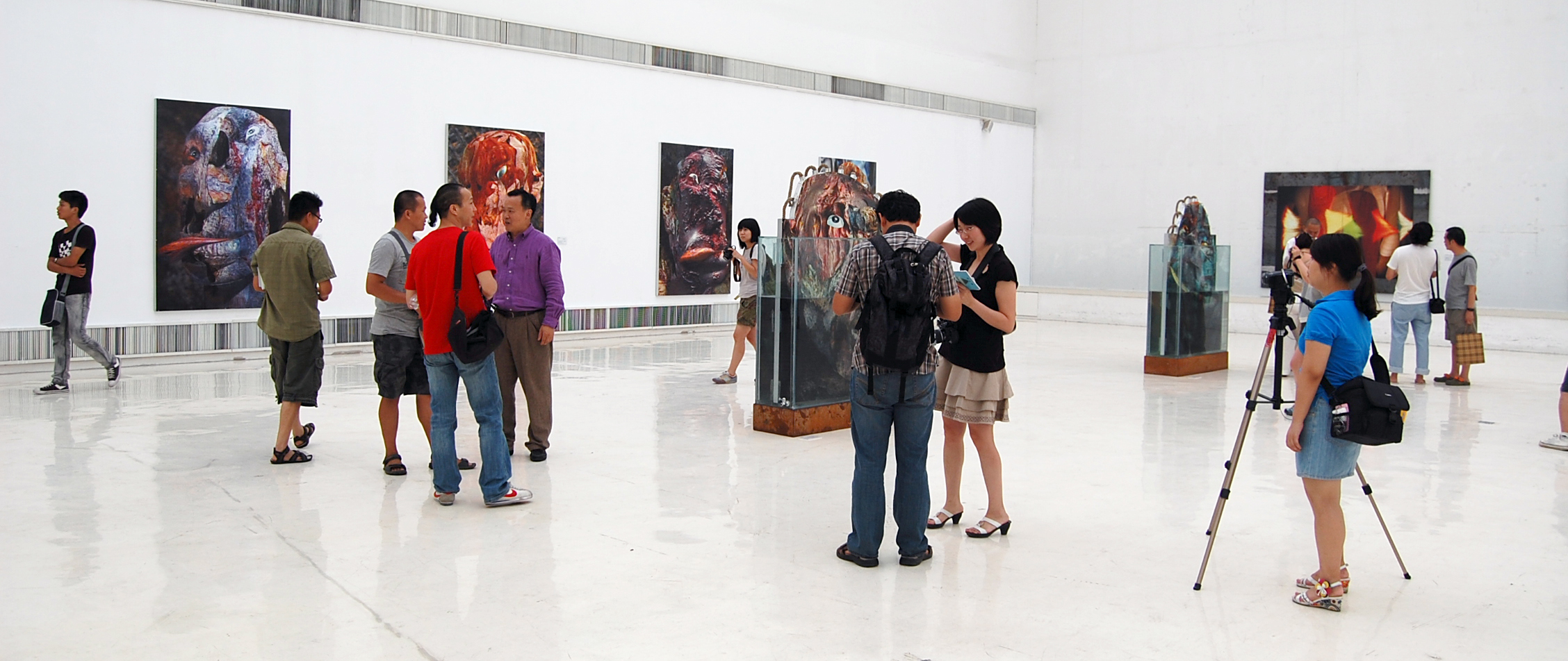 Solo Show at Song Zhuang Art Museum / 宋莊美術館 (2010)