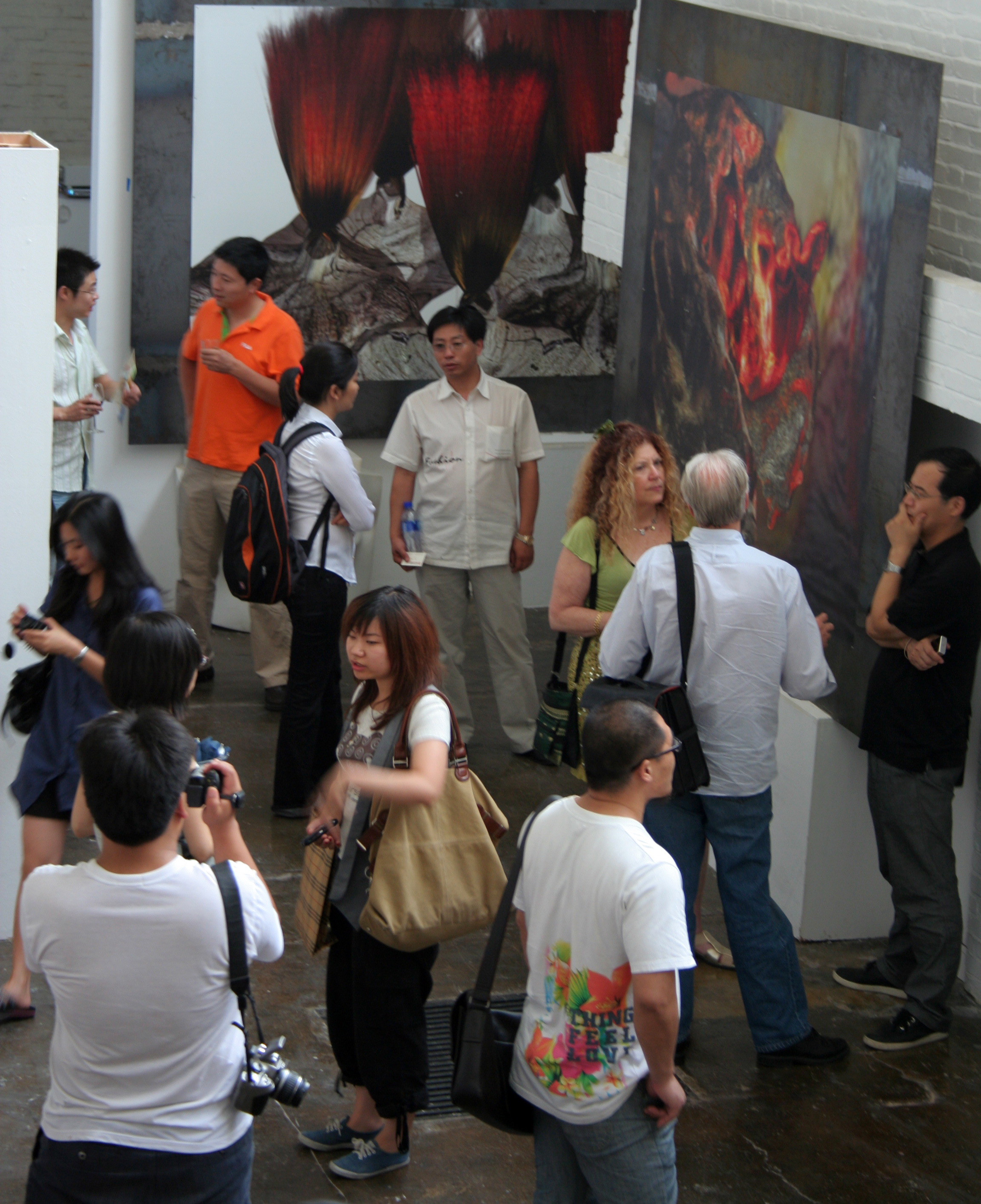 Beijing 798 Yuanfen New Media Art Space / 798緣分新媒體藝術空間個展 (2009)