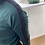 Thumbnail: Donkergroene trui met zwarte bies Garcia 53289