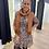 Thumbnail: Camelkleurige sjaal in cashmere met Gucci print 53463