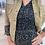 Thumbnail: Lange jurk met bruin/witte spikkel 53290