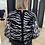 Thumbnail: Reversible trui/cardigan met zebraprint My Twin by Twinset 54874