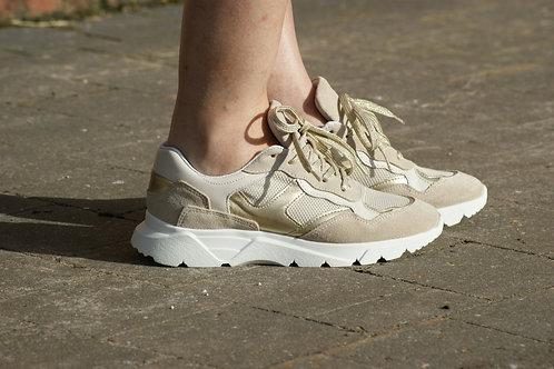 54619 Hippe sneaker verhoogd in beige Tango