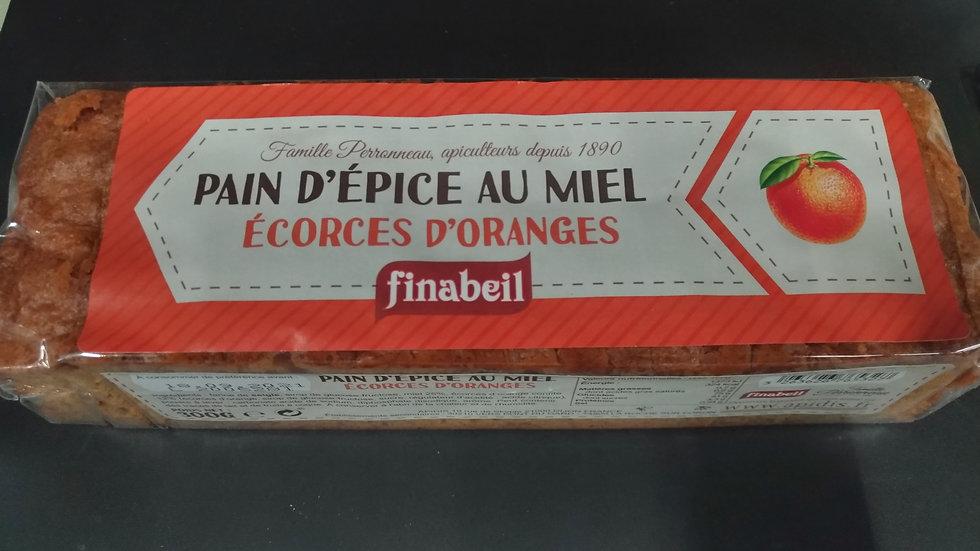 9/ Pain d'épices Écorces d'Orange 300g