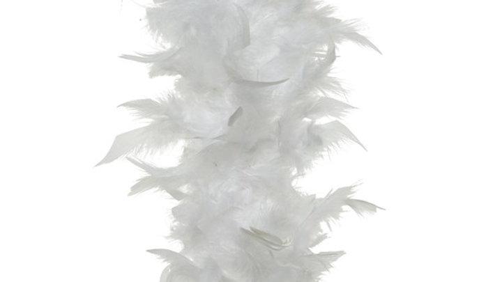 4/ Guirlande Boa Plumes Blanc 150cm